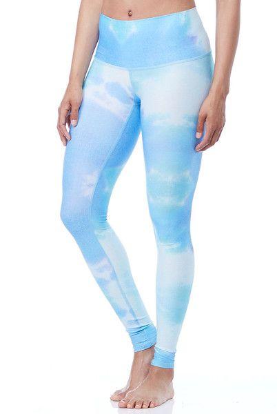 Sky Clouds Yoga Fashion Pants