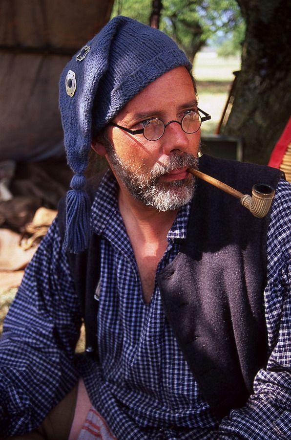 1513225f2f7f3 Living History expert and master blacksmith