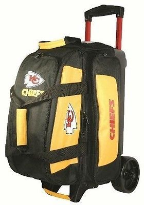 Kr Strikeforce Nfl Kansas City Chiefs 2 Ball Roller Bowling Bag Bowling Bags Nfl Kansas City Chiefs Kansas City Chiefs