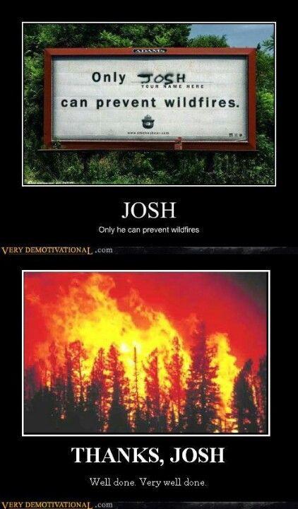 Nice job Josh
