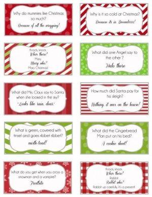 Elf On The Shelf Printable Joke Cards Christmas Jokes For Kids Christmas Jokes Christmas Crackers