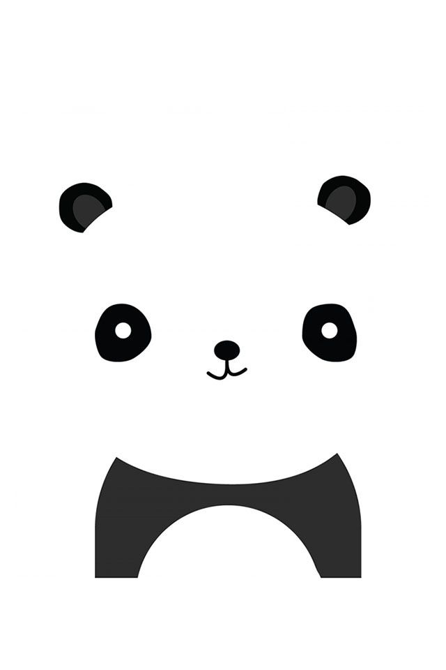 Panda Wallpaper Cute Iphone Wallpapers Pinterest Panda
