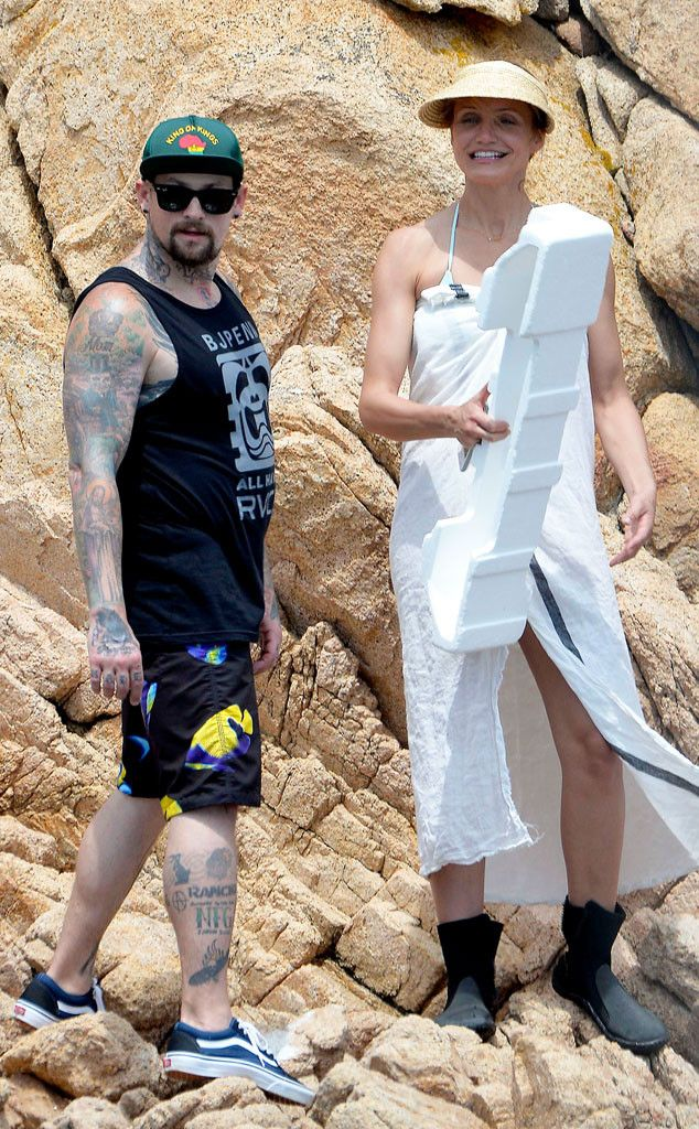 Benji Madden Cameron Diaz From The Big Picture Today S Hot Photos Cameron Diaz And Benji Cameron Diaz Benji Madden Cameron Diaz