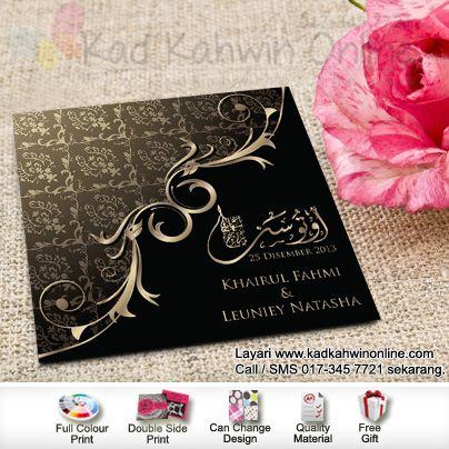 Contoh Kad Jemputan Kawin Wedding Cards Inspirational Cards Wedding