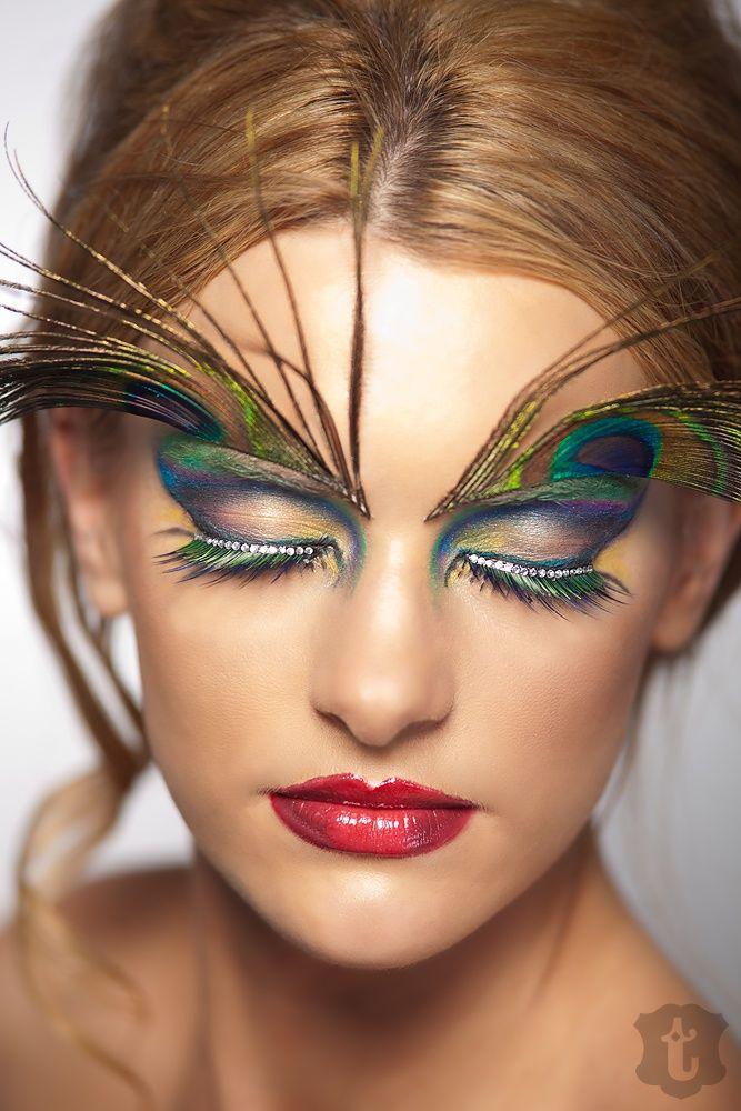 peacock make up schmink ideen pinterest pfau fasching und kost m. Black Bedroom Furniture Sets. Home Design Ideas