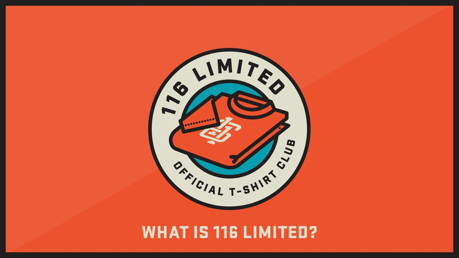 116 Limited The Official T Shirt Club How It Works Club Shirts Tee Design T Shirt