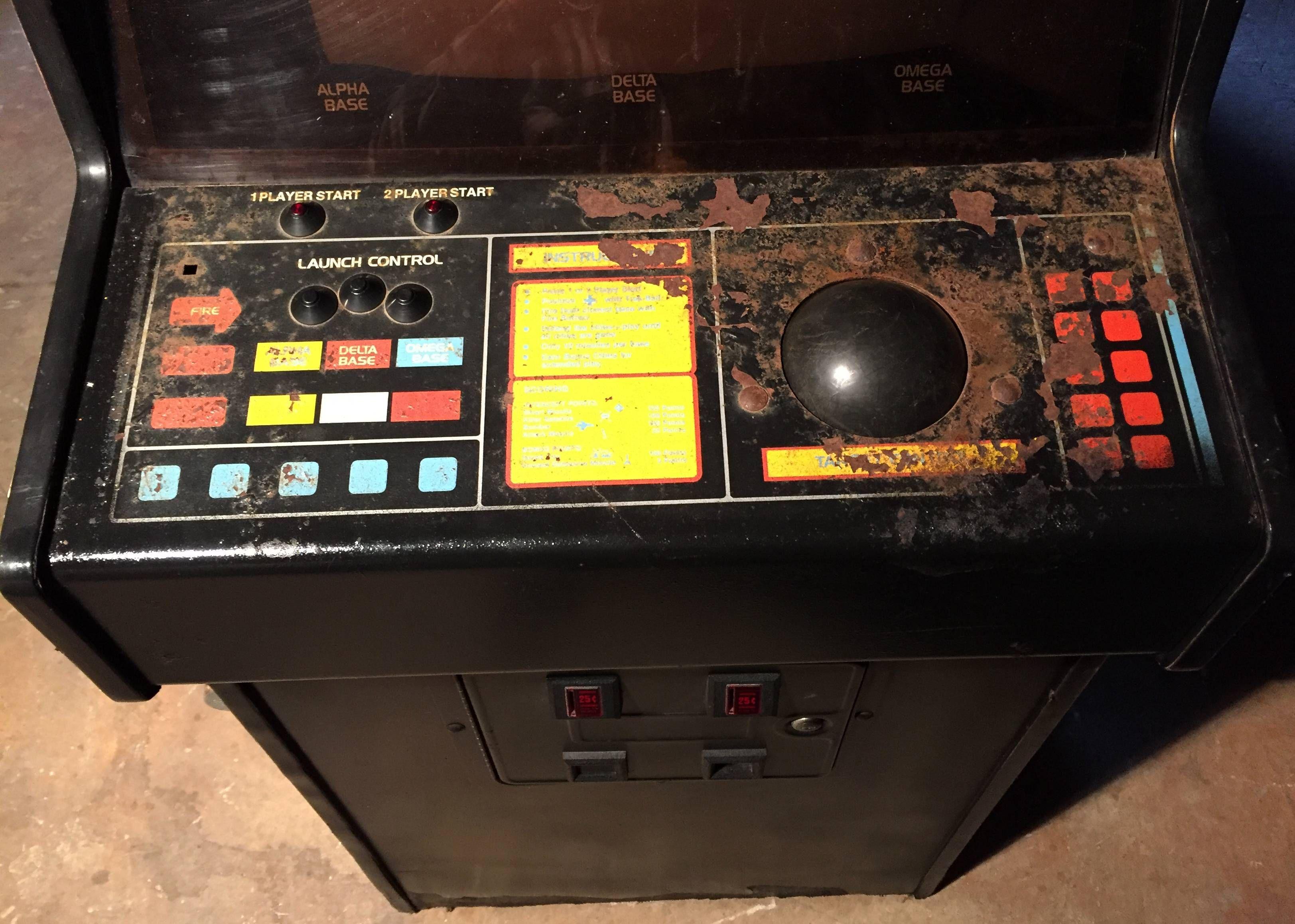 Carolina Gaming Company - My new Atari Missile Command ...