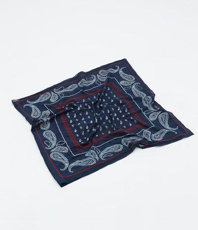 Zara tri-color scarf