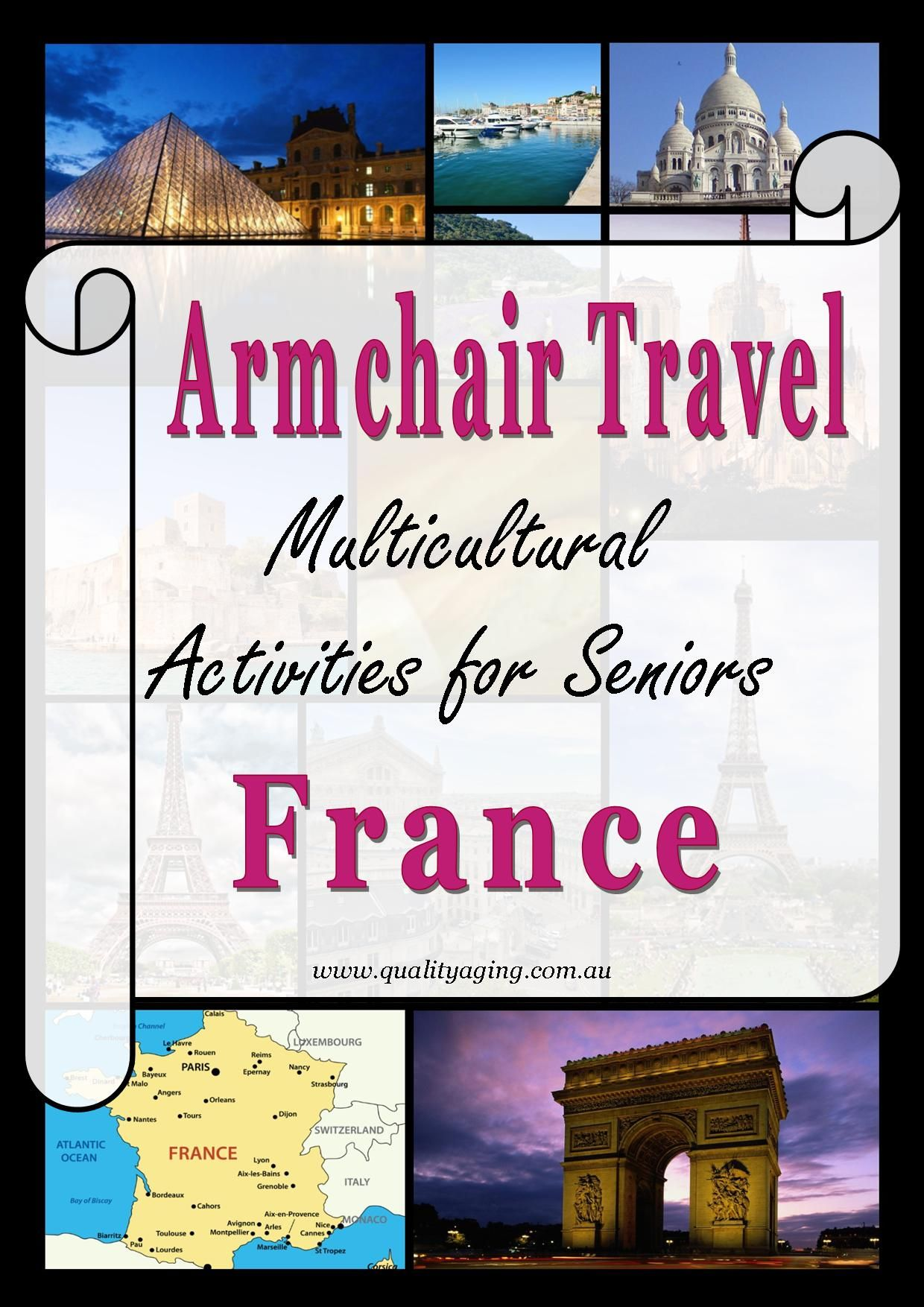 Armchair Travel - France | France travel, France map ...
