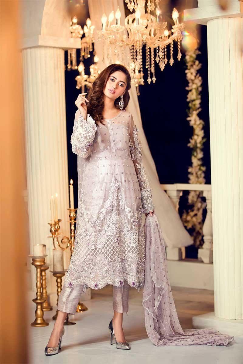 Maria b couture latest fancy formal wedding dresses pak