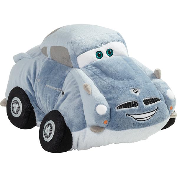 pixar cars 2 lightning mcqueen pillow
