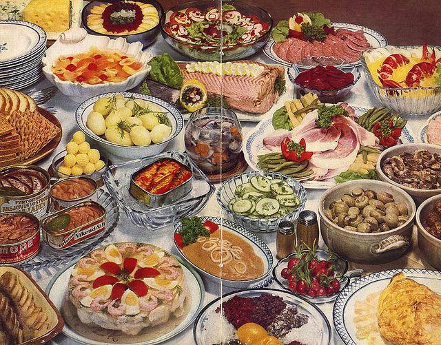 Swedish Food 2 1957 Food Swedish Recipes Retro Recipes