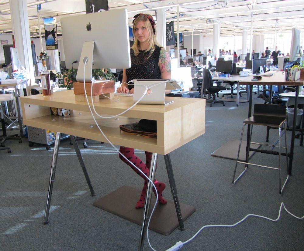 10 Ikea Standing Desk Hacks With Ergonomic Appeal Stol Dlya