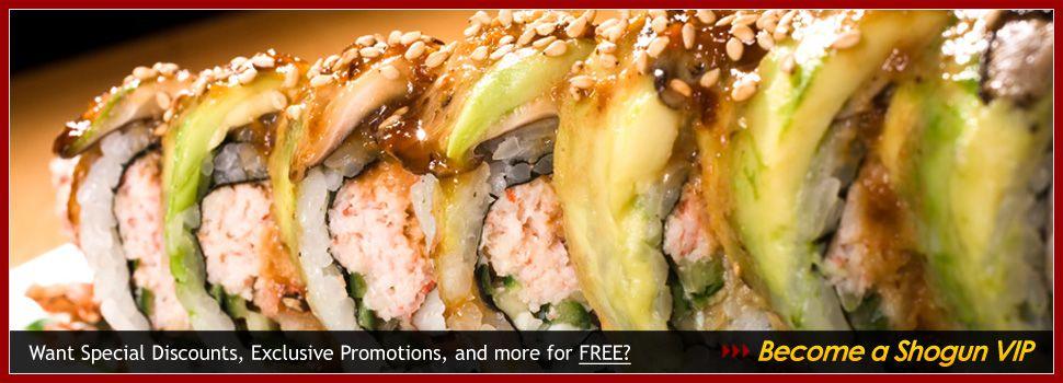 Shogun sushi restaurant the original phoenix sushi bar