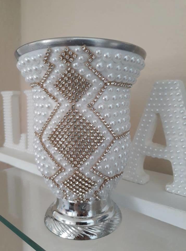 Imagen relacionada cuentas jarrones floreros de for Jarrones de vidrio decorados