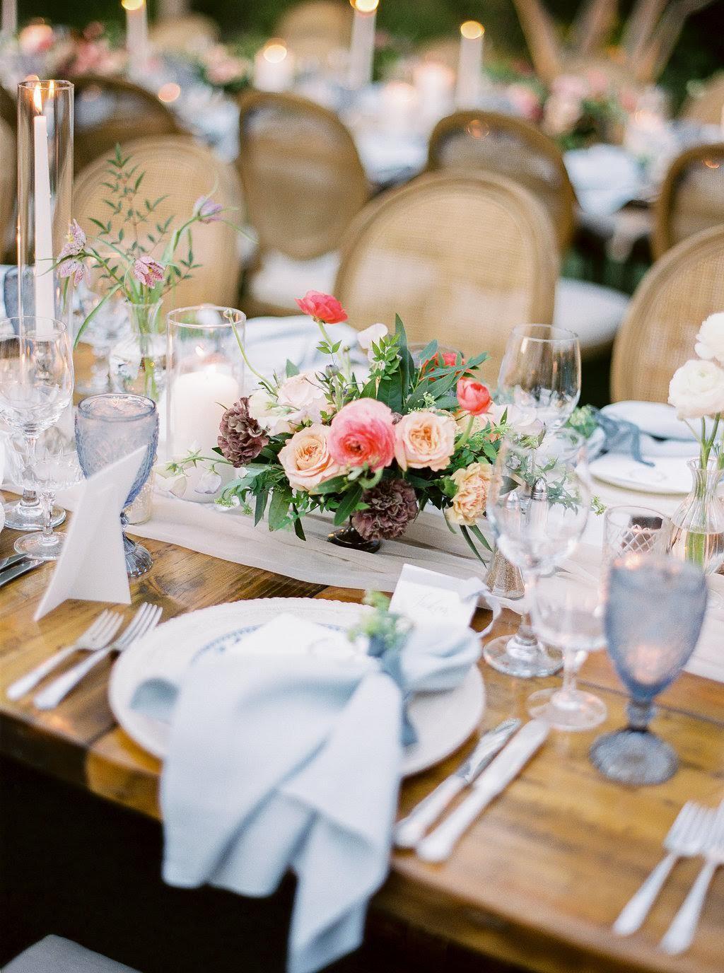 El Chorro Floral Outdoor Wedding Wedding Centerpieces Harvest Dining Table Wedding Table