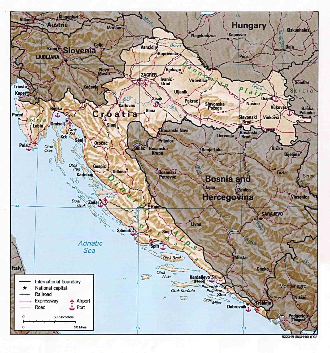 Croatia Http Www Travelbrochures Org 54 Europa Cruise To Croatia Croatia Map Travel Mistakes Croatia