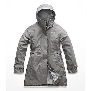 61b79b9f7c The North Face Women s City Breeze Rain Trench in 2019