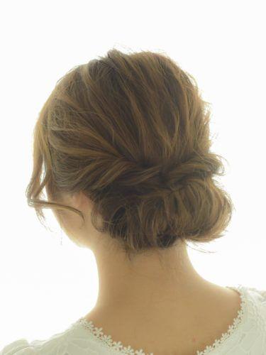 超簡単なのに可愛いまとめ髪 ギブソンタック の素敵なヘア