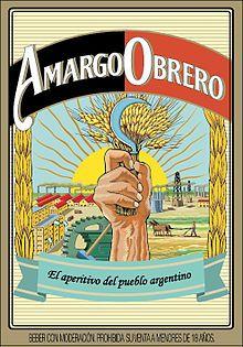Amargo Obrero Obrero Amargo Afiches Publicitarios