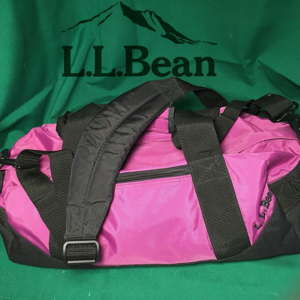 L L Bean Pink Fushia Adventure Duffle Carry On Luggage Bag Wheeled Duffel Bag Duffel Bag Bags Carry On Luggage