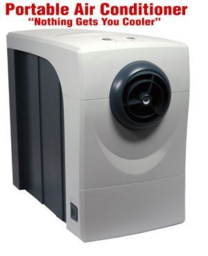 Rechargeable 12 Volt Portable Battery Powered Air Conditioner