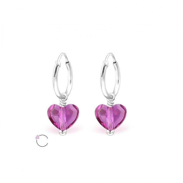 Children S Earrings Sterling Silver Sleeper Earrings With