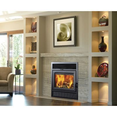 supreme fireplaces inc galaxy zero clearance semi classic fireplace rh pinterest com