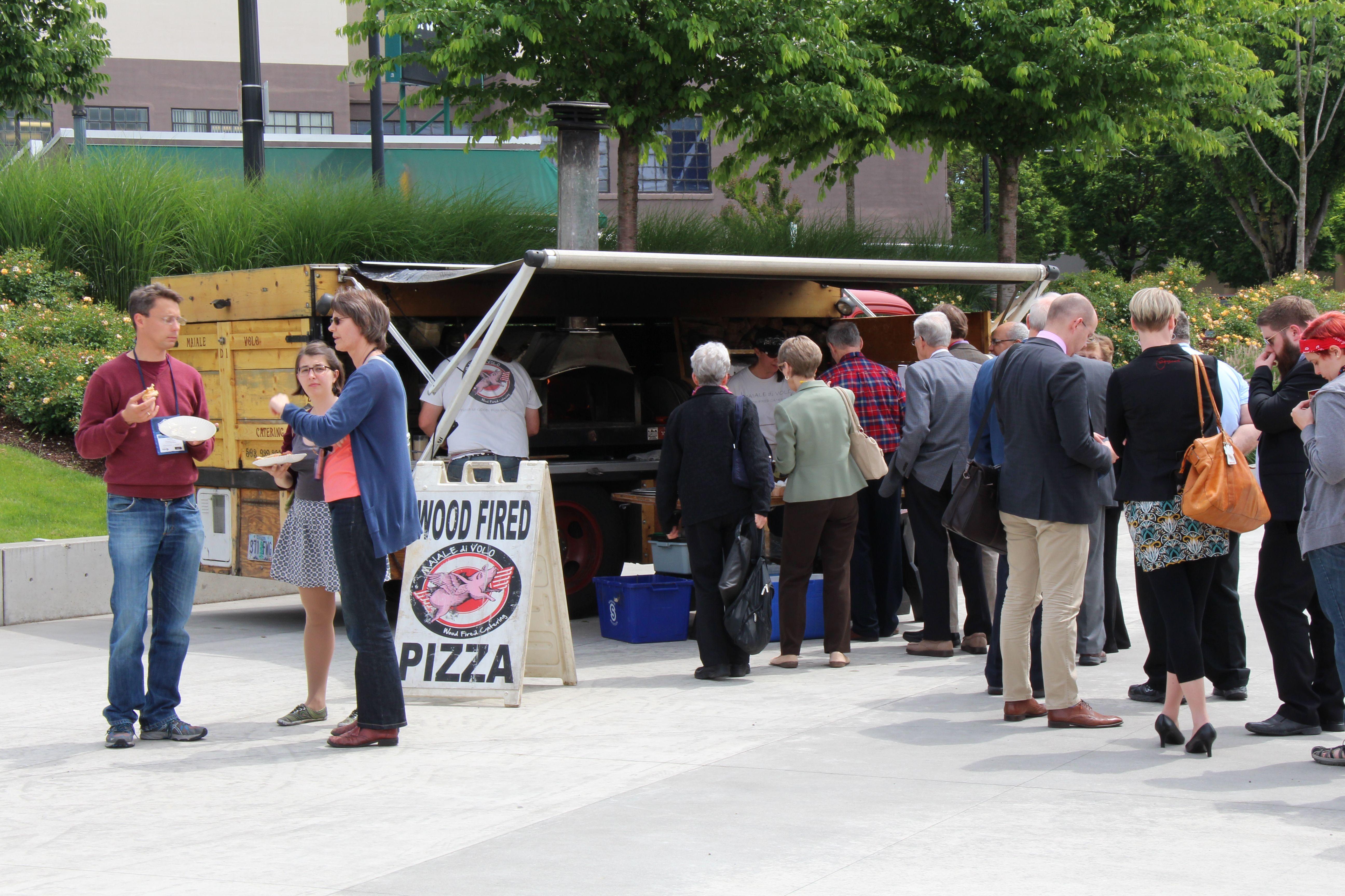Food Truck - OCC Plaza Photo: Nancy Erz
