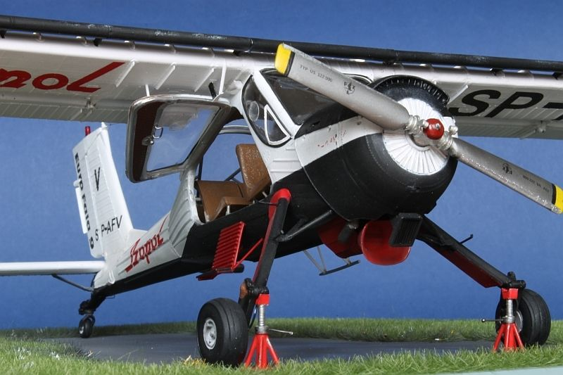 PZL 104 WILGA 35 1/32 Scale Model | Aircrafts Modern Era
