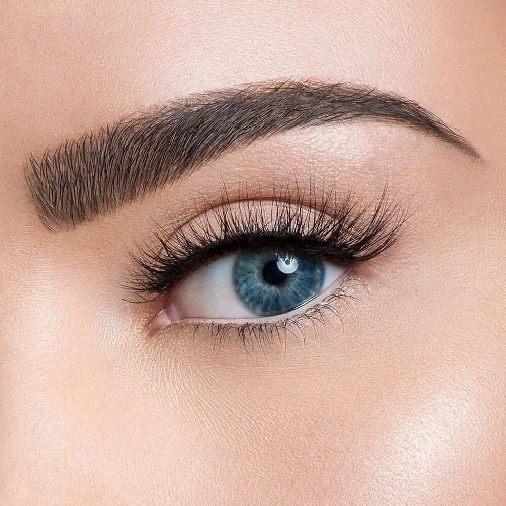 6a01d7cf854 Lashes so whispy, they will whip your eyes into shape. This layered lash  has long whispie ends with an added flare.