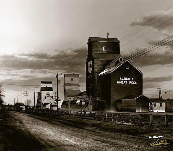 Alberta Grain Elevators By Jim Justice In 2020 Model Railroad Elevation Alberta