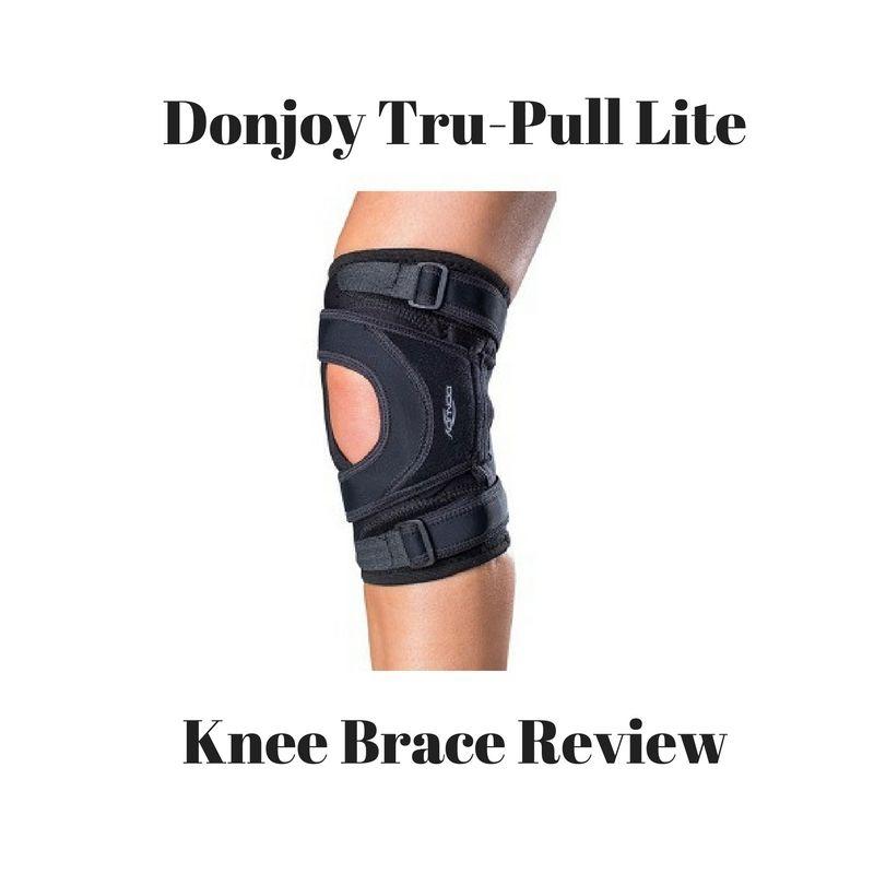 Donjoy Tru-pull Lite Knee Brace Hinged