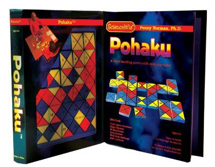 Science Wiz Pohaku. 4 Games, 26 Puzzles, 1 Rule!