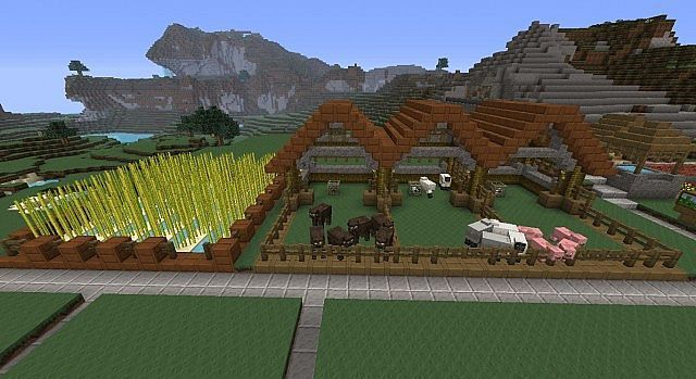 Image of: Cat Image Result For Minecraft Animal Farm Design Pinterest Image Result For Minecraft Animal Farm Design Mc Pinterest