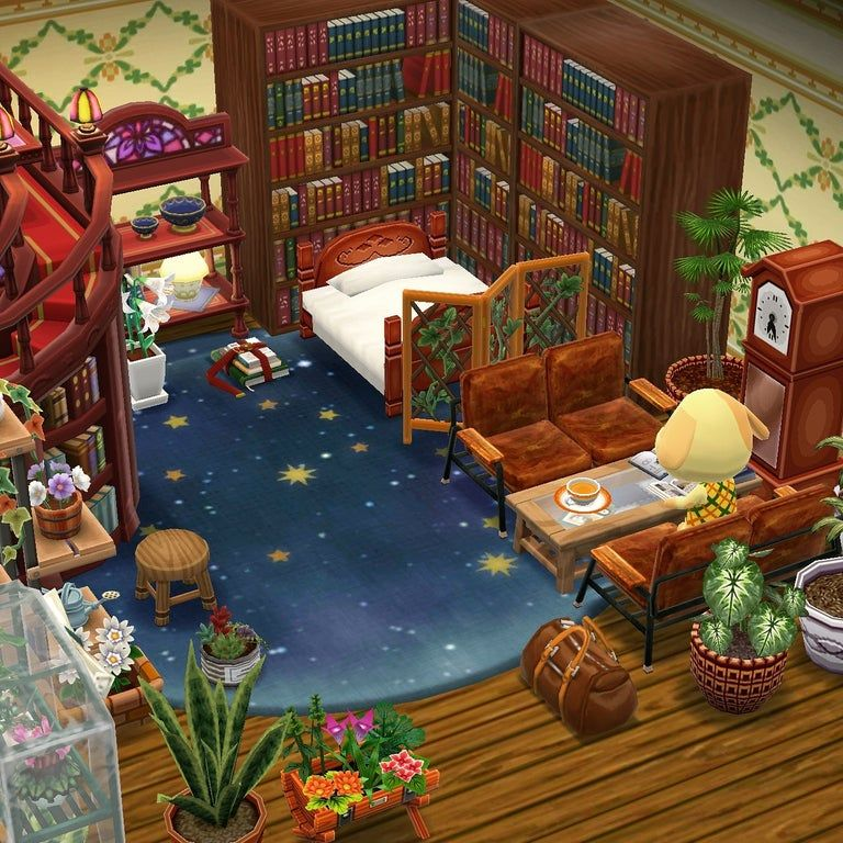 Goldie S Room Acpocketcamp With Images Animal Crossing