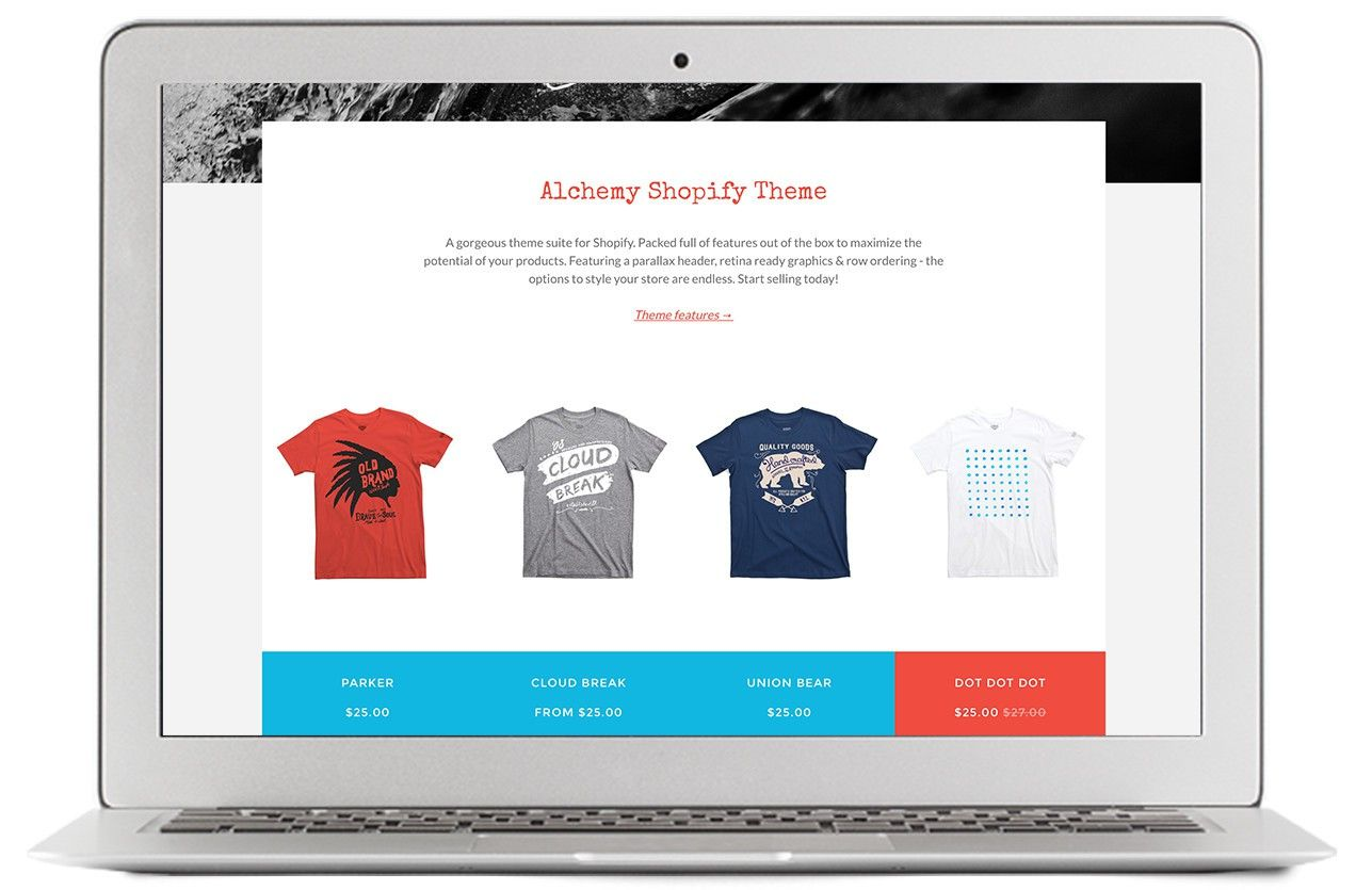 Shopify makes it easy to start a business and sell T