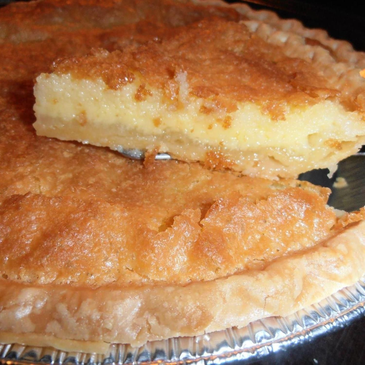 Buttermilk Pie Recipe 4 Just A Pinch Recipes Buttermilk Pie Recipe Buttermilk Pie Desserts