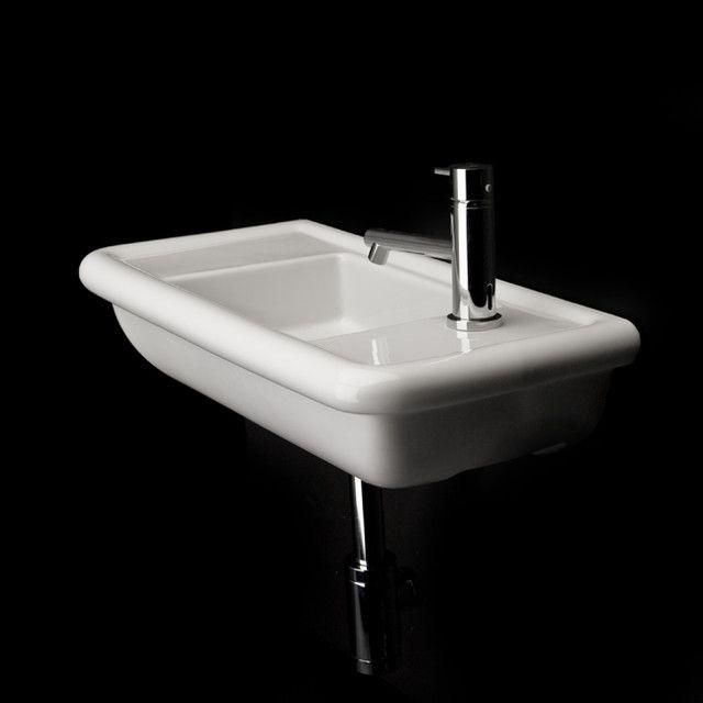 Lacava Alia Wall Mount Lav Sink Modern Bathroom Sinks Small