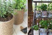 4 unternehmerisch clevere Tipps: Gartenideen Terrassentrittsteine Garten #kleinekräutergärten