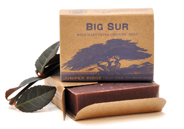 Juniper Ridge soap - Big Sur. Wild ginger, burnt honey, salt, damp ground. Wish this was a candle! http://shop.alterbrooklyn.com/SP101.html