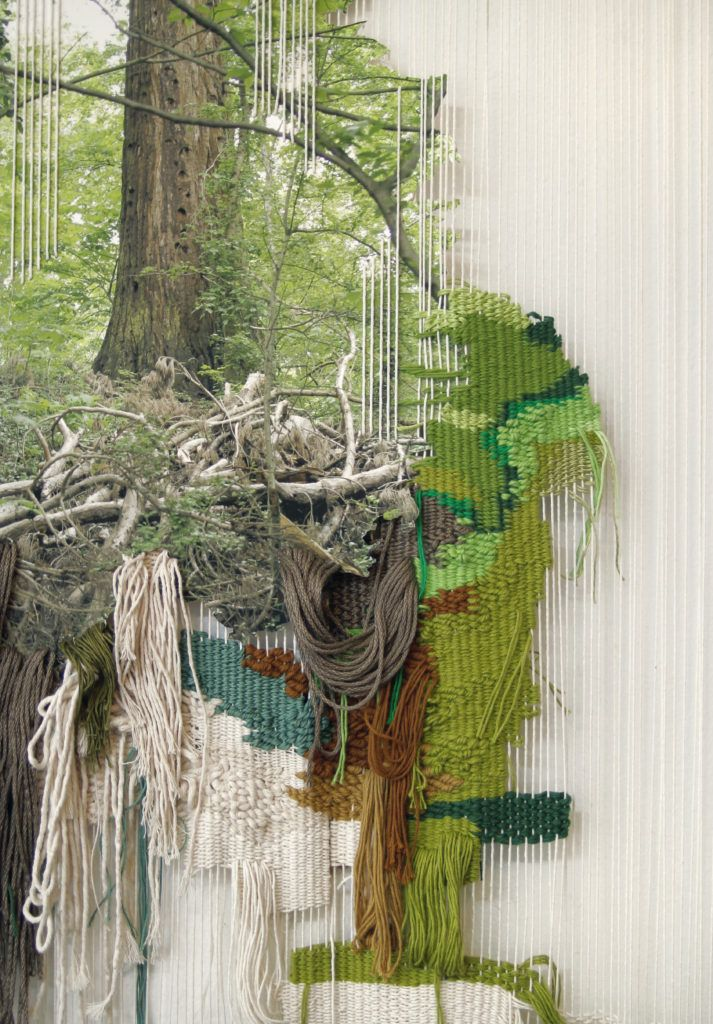 ana teresa barboza is a textiles artist from lima  as well as an impressive cv her work is a
