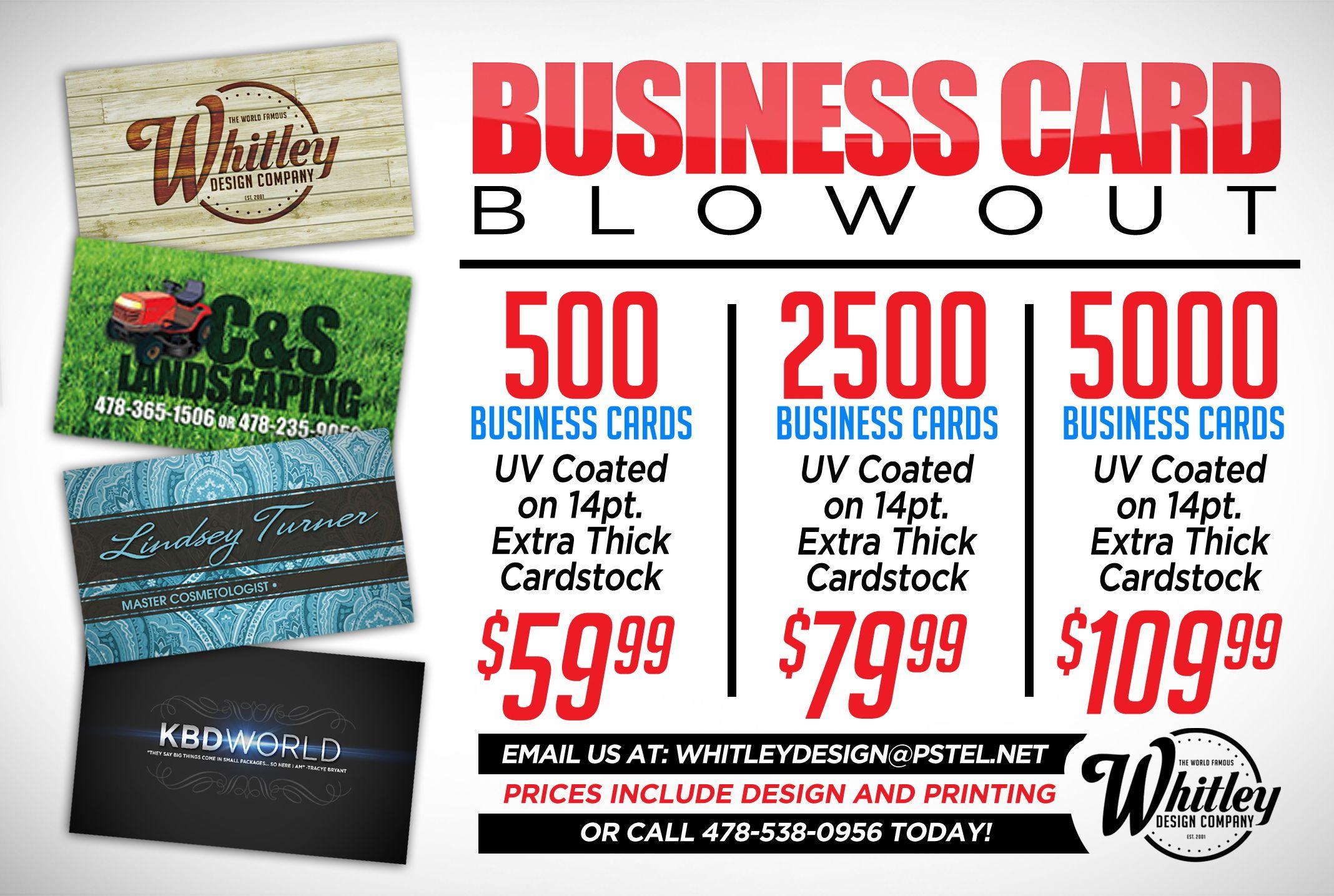 Business Card Specials Cards Business Cards Business