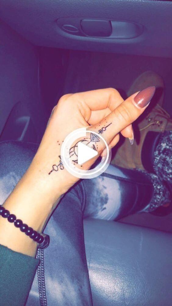 20 Hand Tattoo Ideas From Women Celebrities That Love Ink ...