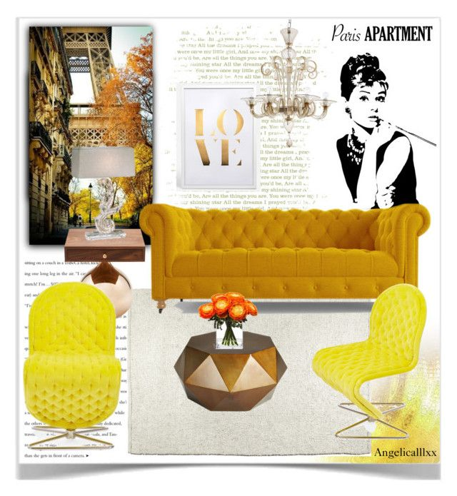 """Autumn Dreams"" by angelicallxx ❤ liked on Polyvore featuring interior, interiors, interior design, home, home decor, interior decorating, Joybird Furniture, VerPan, Belle Maison and parisapartment"