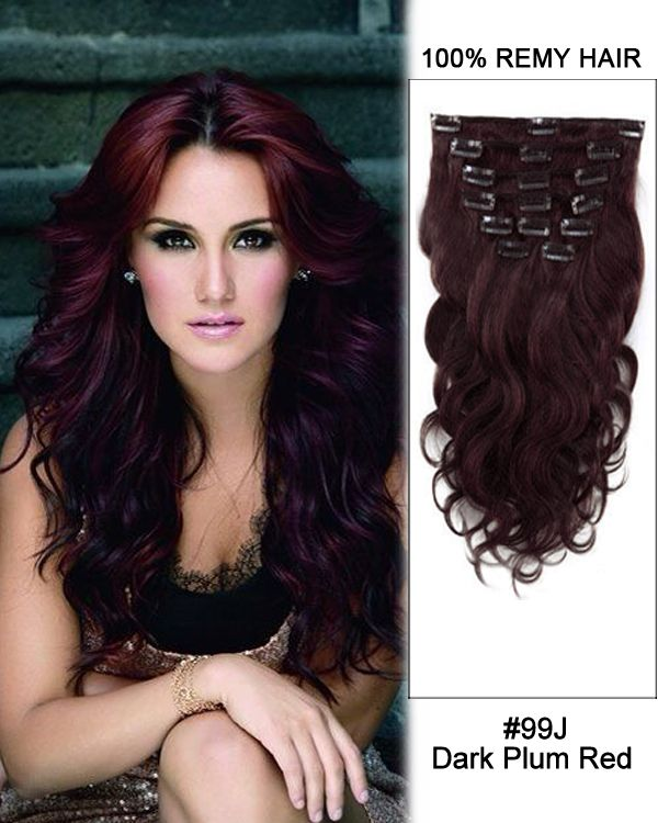 16 Inch 10pcs Body Wave Brazilian Clip In Remy Hair