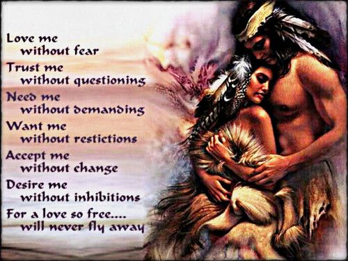 Love Native American Quotes African American