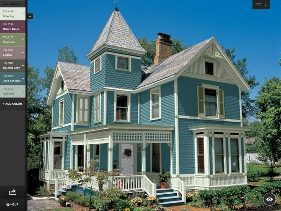 Victorian Houses Farmhouse Life Modern Exterior Paint Colors