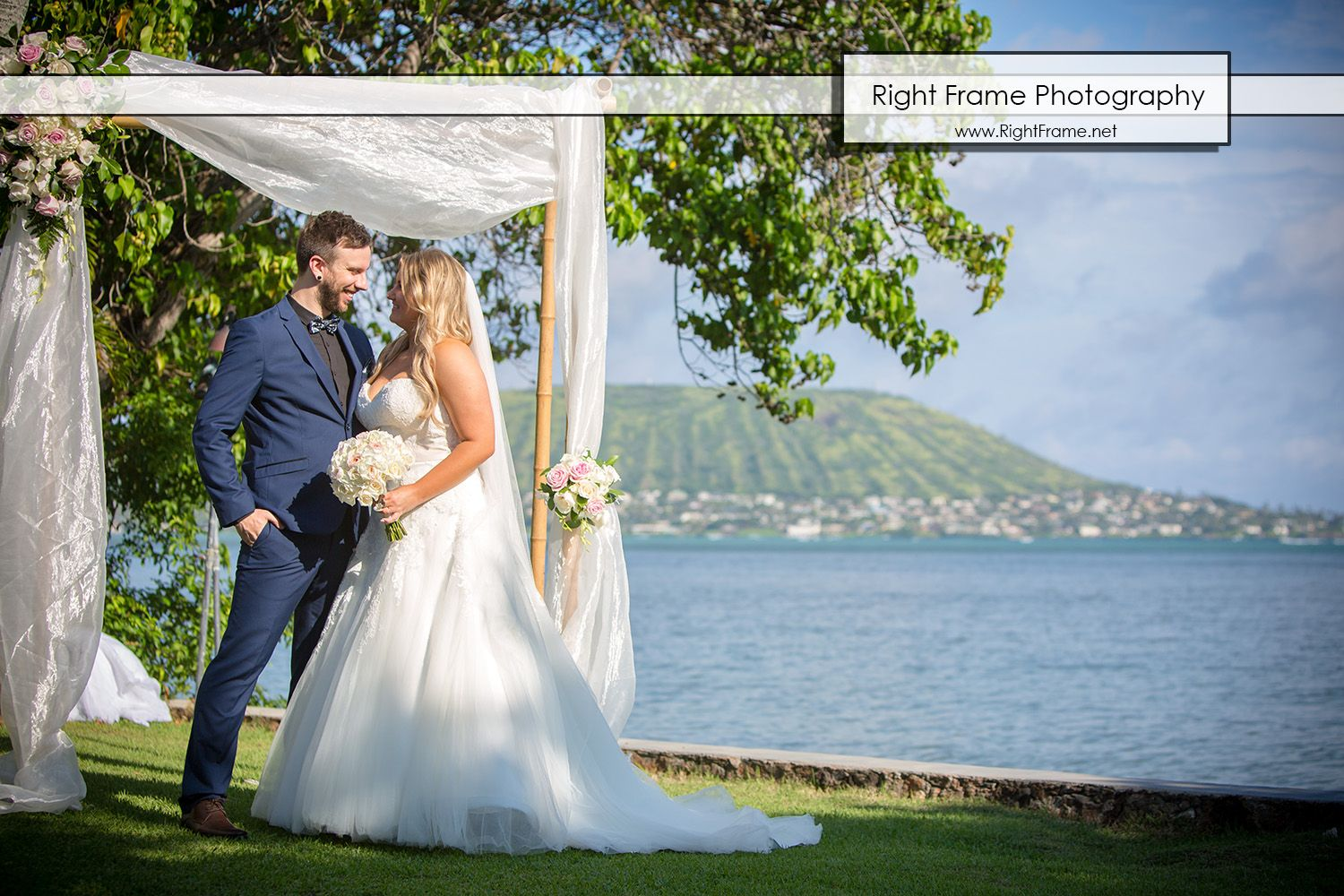 Destination Wedding in Hawaii, Oahu ---- Beachfront Oasis Estate ...