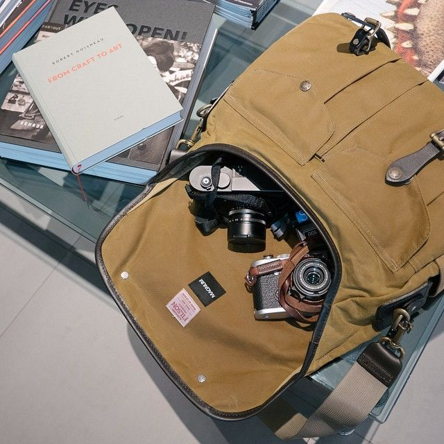 f21267cda6 Out shooting with the Filson Camera Field Bag